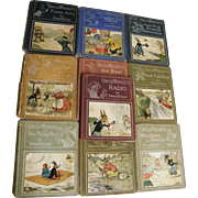 Set Of 10 Uncle Wiggily Children's Books..Published 1927 & 1929
