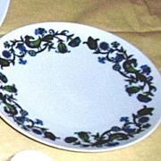 """Noritake China Pastoral Pattern Salad Plate [8 1/4""""] Cook 'N Serve"""