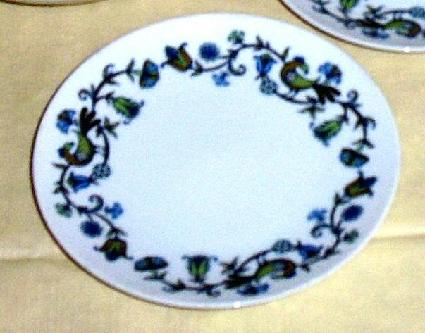 """Noritake Pastoral Pattern China Bread And Butter Plate [6 3/8""""] Cook 'N Serve"""
