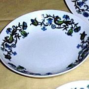 Noritake China Pastoral Pattern Soup Bowl [10]