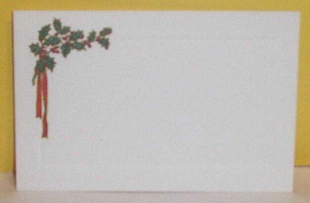 Item ID: EPHEMERA-CHRISTMAS-HOLLY--2320 In Shop Backroom