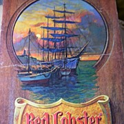 Vintage RED LOBSTER Menu...Dinner Menu...1978