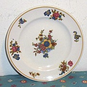 Mayer China Restaurant-Ware Dresden Pattern Luncheon Plate