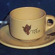 Reef Hotel Expresso Cups & Saucers...Restaurant Hotel China...4 Sets Available
