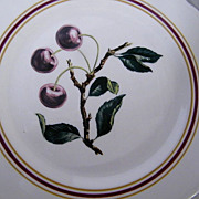 """Syracuse..Restaurant China CHERRY BRANCH Dinner Plates..10.5""""..Border & Scalloped Edges..Barely Used"""