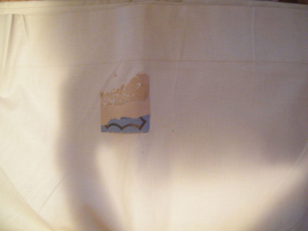 Vintage 40's-50's..FULL Sheet..100% Cotton Muslin..Starched..NEW Condition