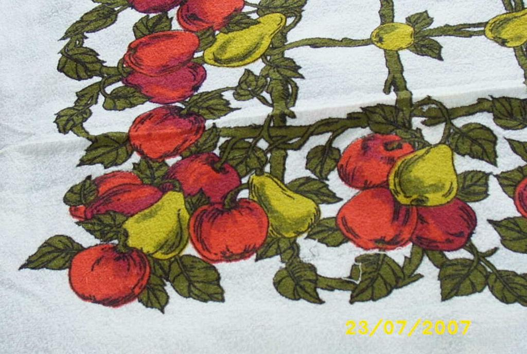Item ID: TERRY FRUIT TABLECLOTH-2212 In Shop Backroom