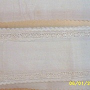 "SALE Very Vintage...Swiss Made Needlelace Trim Edging..2"" Wide..28 Yard Lot"