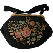1950's Embroidered Purse...