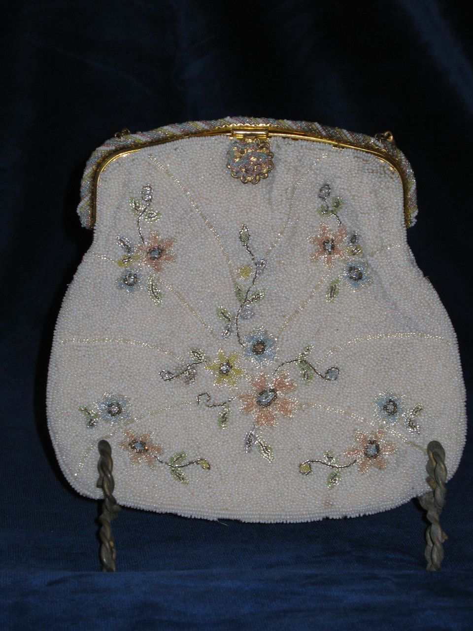 Vintage French Beaded Purse...