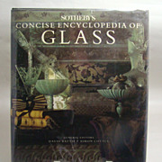 Sotheby's Concise Encyclopedia of Glass, David Battie and Simon Cottle General Editors, 1991.