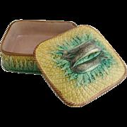 Majolica Sardine Box – Ca. 1880