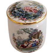 Colorful Lidded Trinket Box – Braunton Studio Ceramics, N. Devon, England