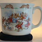 "Royal Doulton ""Bunnykins"" English Bone China Child's Mug"