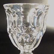 "EAPG Egg Cup – ""Ashburton"" Pattern - Flint"