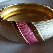 Pretty in Pink Clamper Bracelet Marked Park Lane