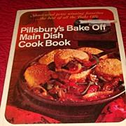Hardback Cook Book: 1968 Pillsbury's (Best of the Bake Offs) Main Dish Cookbook