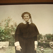 Wonderful Old Photograph of Young Woman in an Early Nun's Habit Louisville, KY