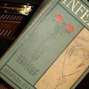 1875 Hardback Book INFELICE Novel by Augusta..Evans..Wilson Illustrated Davis
