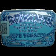 Vintage Edgeworth Pipe Tobacco Tin Excellent Condition Larus & Bro. Co. Richmond, VA