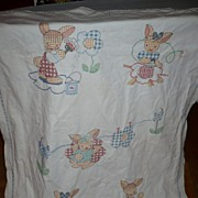 Hand Embroidered Baby Cover