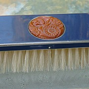 Bakelite & Metal Clothes Brush