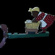 Mammy & Washtub Wood Whirligig