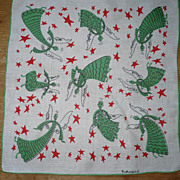 Vintage Handkerchief Angels by Rutherford