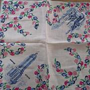 New York Empire State Wall St. Handkerchief