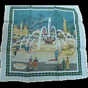 Glasgow 1938 Exhibition Scarf