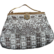 French Beaded Purse