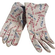 Eisenhower I Like Ike Gloves