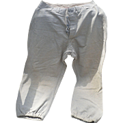 Wool Baseball Pants Vintage