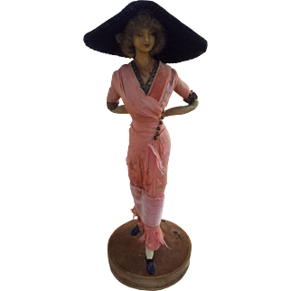 Lovely Lafitte Desirat French Wax Doll