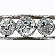 Marcus & Co Art Deco Diamond Brooch
