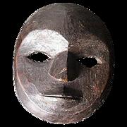Tribally Used Lega Mask.  Kivu, Zaire