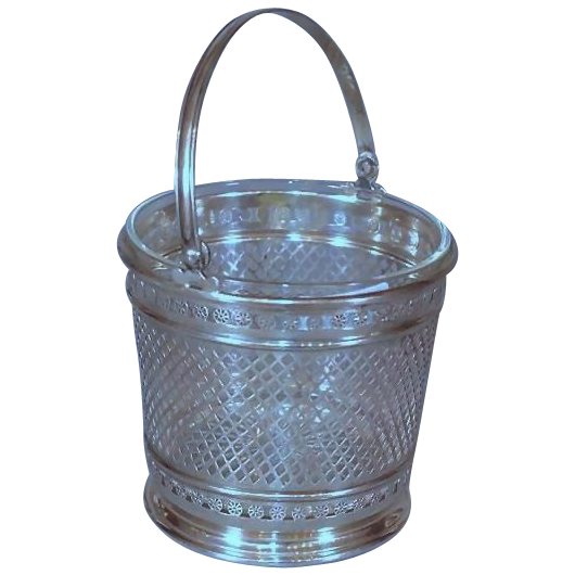 Beautiful Sterling Silver Ice Bucket - Early 20th