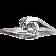 .27 Carat Diamond Solitaire Engagement Ring - 14K