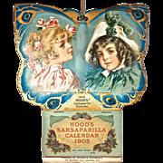1905 Hood's Sarsaparilla Calendar - Artwork by Maud Humphrey