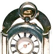 Antique Swiss Lady's 17-Jewel Half-Hunter Pocket Watch - Circa 1905