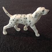 Tiny Dalmation Porcelain Dog Figurine