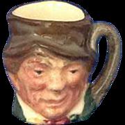 Royal Doulton Tiny Character Jug 'Paddy' Name in Backstamp