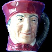 Royal Doulton Tiny Character Jug The Cardinal - One of the Original Twelve Tinies