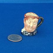 Royal Doulton Tiny Character Jug 'Fat Boy' - One of the Original Twelve Tinies
