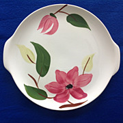Stetson Rio 'Meadow Rose' Round Two-Handled Serving Platter