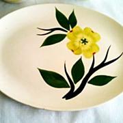 Stetson 'Dixie Dogwood' Mid-Century Oval Platter