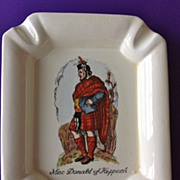 MacDonald of Keppach Scotsman Ashtray Plichta London England