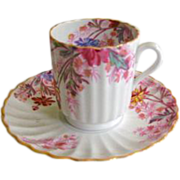 Copeland Spode 'Chelsea Gardens' Demitasse Cup and Saucer