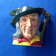 Royal Doulton Pied Piper Small Character Jug