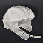 1910s - 1920s Vintage Motorcycle Skull Cap - BECK, Steampunk